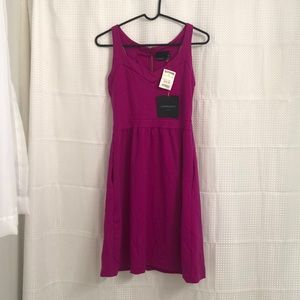Cynthia Rowley fuchsia dress